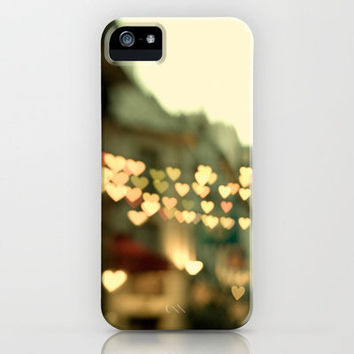 Looking for Love - Paris Hearts iPhone Case by Eye Poetry | Society6