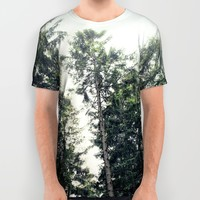 Up In The Woods All Over Print Shirt by Tordis Kayma