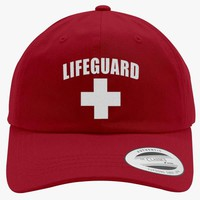 Lifeguard Embroidered Cotton Twill Hat