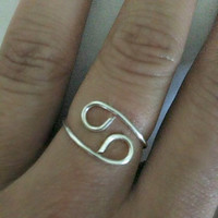 Zodiac Sign Ring- Cancer