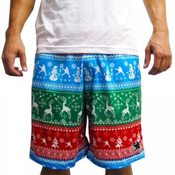 Christmas Lacrosse Shorts | Lacrosse Unlimited