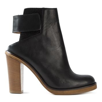 Mm6 Maison Margiela Cut-out Ankle Boots - Tom Greyhound - Farfetch.com