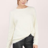 Stay Cozy Fuzzy Sweater $56