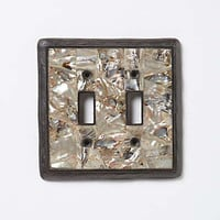 Anthropologie - Mother-Of-Pearl Switchplate