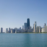 The City Of Chicago Across The Lake