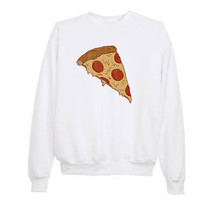 Tumblr Pizza Sweatshirt