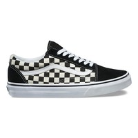 Vans Primary Check Old Skool - Black / White