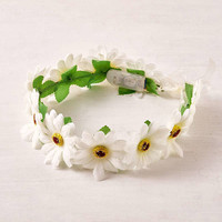 LED Daisy Flower Crown   Urban Outfitters