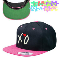 xo the weeknd snapback hat