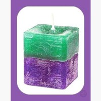 Stress Relief Square Herbal Votives