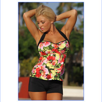 Canary Islands Tankini Plus