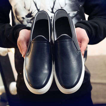 Mens Slip-On Canvas Shoes