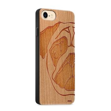 Wood  - Pug Phone Case