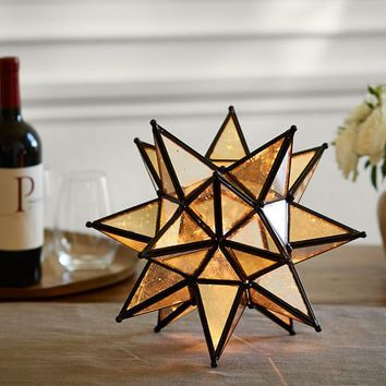 Moravian Star Accent Lamp