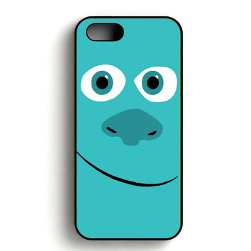 Monster Inc Sulley Face iPhone 5, iPhone 5s and iPhone 5S Gold case