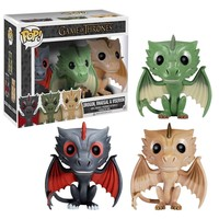 POP! Vinyl Game of Thrones Dragon 3-Pack