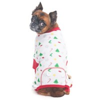 Holiday Cheer Pajama Dog Costume