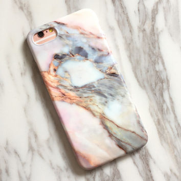 Tie-dyed Marble iPhone 7 7Plus & iPhone se 5s 6 6 Plus Case Best Protection Cover +Gift Box-516