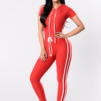 Tennis Courts Set - Red