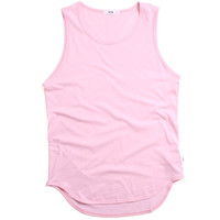 Original Long Tank Top Pink