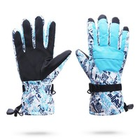 Skiing gloves winter christmas 2016 Winter Gloves Ski Waterproof Windstopper Gloves Hot SaleSnowboard Warm Skiing Riding Climbing Snowmobile Gloves KO_18_2