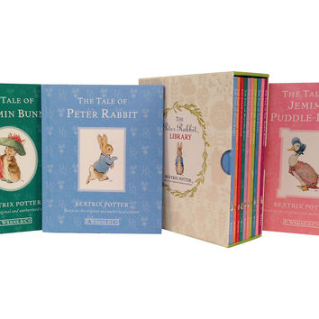 Peter Rabbit 10-Volume Library, Fiction Books