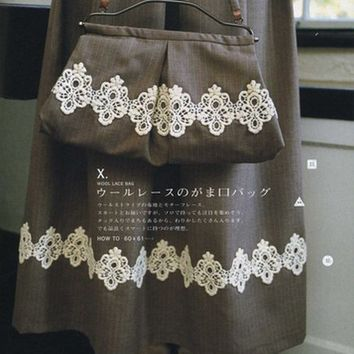 I Love Lace & Button - Japanese Sewing Pattern Book for Women - Sato Watanabe - B274