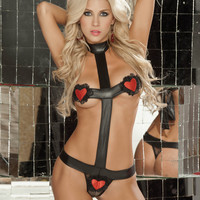 Wetlook Lingerie Set