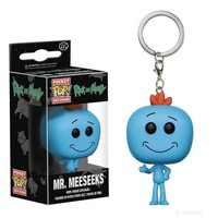 Funko Pop Pocket Mr. Meeseeks Keychain Rick and Morty
