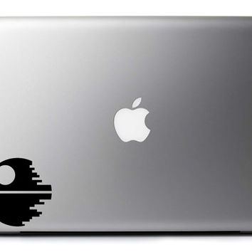 Star Wars Death Star Inspired Vinyl Decal Laptop Wall & Vehicle Art : Skin Sticker + Free Shipping!