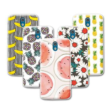 Fruit Art Painted Banana Minions Case For HTC Desire 526 526G 326 326g Case Cover For HTC Desire 526+Free Stylus