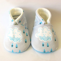 Little Piggies Baby Shoes- ON SALE: Rainy Day Baby Boy Shoes