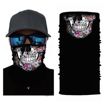 ADK Summer Outdoor Sports Scarf Bicycle Equipment Head Wraps Seamless Neck Mask Magic Climbing Scarves Mask