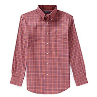Roundtree & Yorke Travel Smart Long-Sleeve Sportshirt