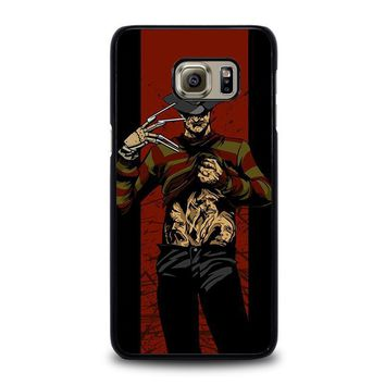 freddy krueger 1 samsung galaxy s6 edge plus case cover  number 1