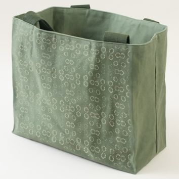 Rustic Floral, abstract pattern Tote