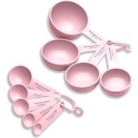 KitchenAid Cook For The Cure Measuring Tool Set, Pink