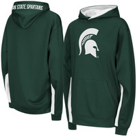 Michigan State Spartans Youth Armory Pullover Hoodie – Green - http://www.shareasale.com/m-pr.cfm?merchantID=7124&userID=1042934&productID=555177052 / Michigan State Spartans