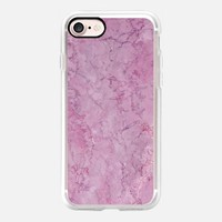 Lavender Blossom Marble iPhone 7 Case by Lisa Argyropoulos | Casetify