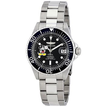 Invicta Disney Limited Automatic Black Dial Mens Watch 22777