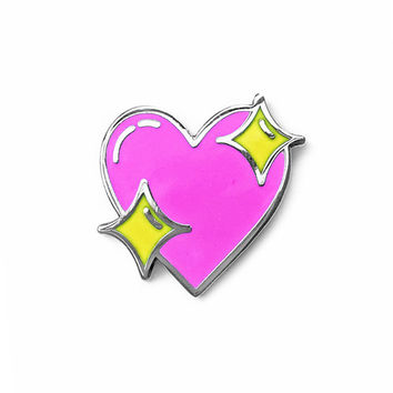 Sparkle Heart Pin