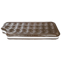 180 x 69 x 20cm Gigantic Chocolate Cream Swimming Floating Row Pool Toy with Pump for Water Game