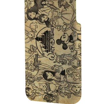 Best 3D Full Wrap Phone Case - Hard (PC) Cover with Walt Disney Classic art Design