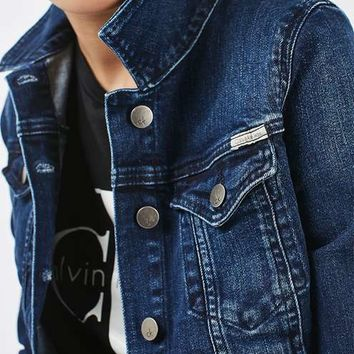 **90s Denim Jacket by Calvin Klein - Jackets & Coats - Clothing