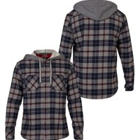 Quiksilver Men's Puffer Button Up Hooded Long Sleeve Shirt - Dick's Sporting Goods