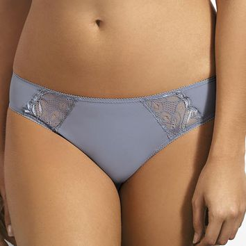 Soft Thong Panty Kinga Moonstone Blue