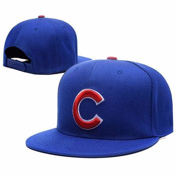 Chicago Cubs New 39THIRTY 2016 World Series Champions flat brim baseball Cap Embroidered Adjustable sport team hats