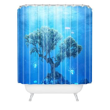 Viviana Gonzalez Underwater Tree Shower Curtain