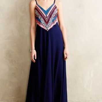 Prism Point Maxi Dress by Mara Hoffman Blue