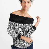 SLOUCHY STITCH MARILYN SWEATER